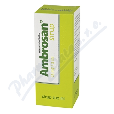 Ambrosan 15mg/5ml por.sir.1x100ml/300g