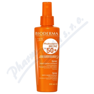 BIODERMA Photoderm Bronz sprej SPF50+ 200ml