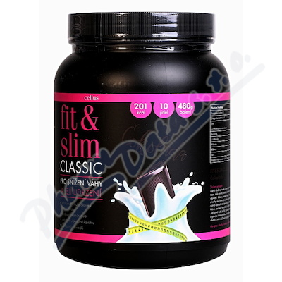 CELIUS Fit and Slim ultra Čokoláda 2x240g