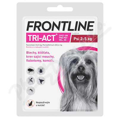 Frontline Tri-Act psi 2-5kg spot-on 1x1