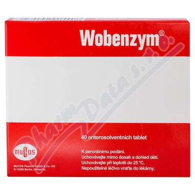 Wobenzym 40 enterosolventnich tablet