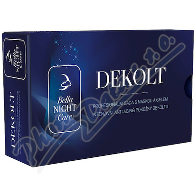 Bella NIGHT Care Dekoltová maska s gelem 25ml